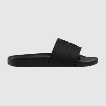 GUCCI Shower Shoes Logo Sports Sandals
