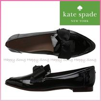 kate spade new york Plain Elegant Style Pointed Toe Shoes