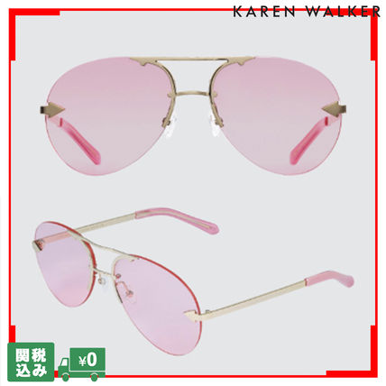 Unisex Street Style Tear Drop Sunglasses