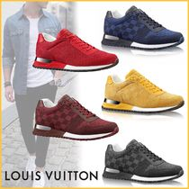 Louis Vuitton DAMIER Other Check Patterns Unisex Blended Fabrics Street Style
