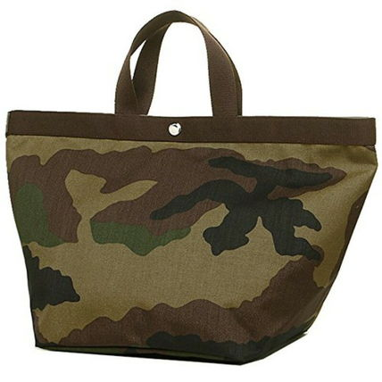 5488b2ecdb HERVE CHAPELIER Camouflage Unisex Canvas Totes by megu1007 - BUYMA
