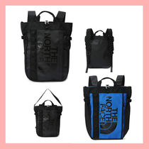 THE NORTH FACE Casual Style Unisex Street Style A4 Backpacks