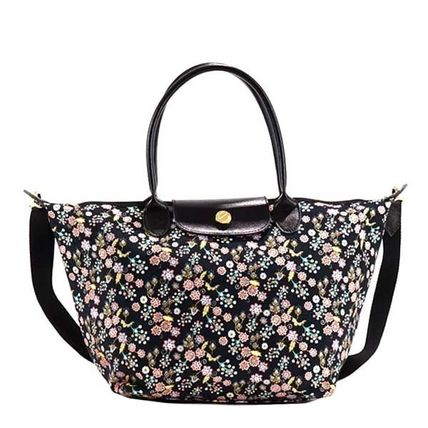 Flower Patterns 2WAY Totes