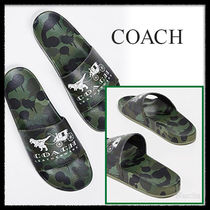 Coach Camouflage Shower Shoes Shower Sandals