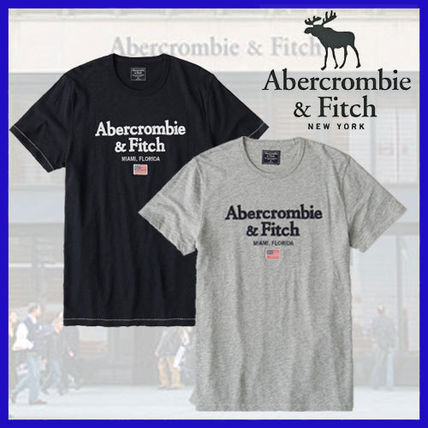 Abercrombie & Fitch Crew Neck Crew Neck Cotton Short Sleeves Crew Neck T-Shirts