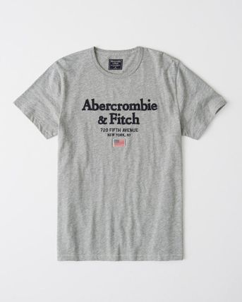 Abercrombie & Fitch Crew Neck Crew Neck Cotton Short Sleeves Crew Neck T-Shirts 5