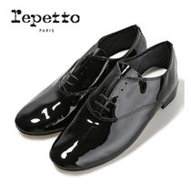 repetto Plain Leather Loafer & Moccasin Shoes
