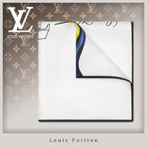 Louis Vuitton Unisex Silk Handkerchief