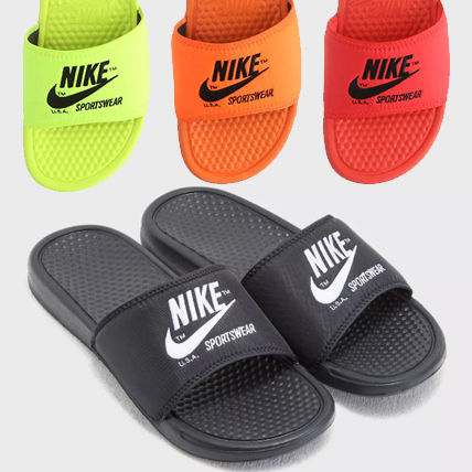 Nike Shower Sandals Unisex Street Style Shower Shoes Shower Sandals