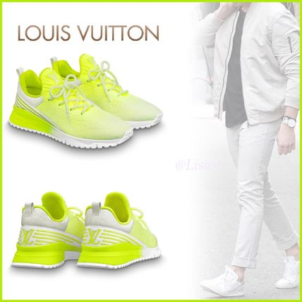 Louis Vuitton Loafers & Slip-ons Other Check Patterns Unisex Blended Fabrics Street Style
