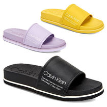 Calvin Klein Plain Shower Shoes Shower Sandals