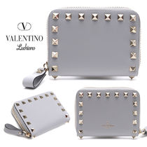 VALENTINO Leather Folding Wallets