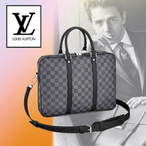 Louis Vuitton DAMIER GRAPHITE A4 2WAY Leather Business & Briefcases
