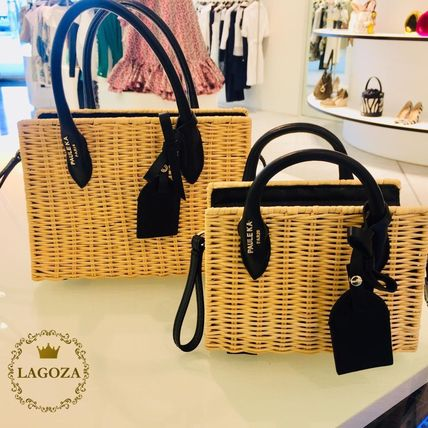 3WAY Straw Bags