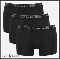 POLO RALPH LAUREN Plain Trunks & Boxers