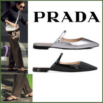 PRADA Leather Flats