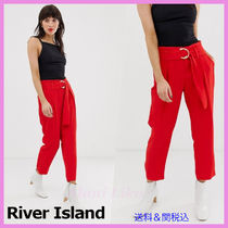 River Island Casual Style Plain Cropped & Capris Pants