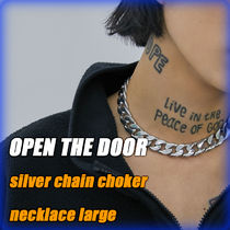 OPEN THE DOOR Unisex Street Style Chain Necklaces & Chokers