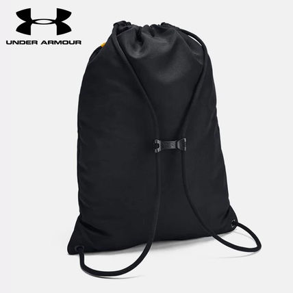 UNDER ARMOUR Unisex Street Style Collaboration Logo Bags