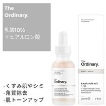The Ordinary Dullness Dark Spot Freckle Whiteness Hialuron