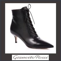 Gianvito Rossi Leather Ankle & Booties Boots