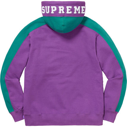 Supreme Hoodies Pullovers Unisex Street Style Long Sleeves Plain Cotton 7