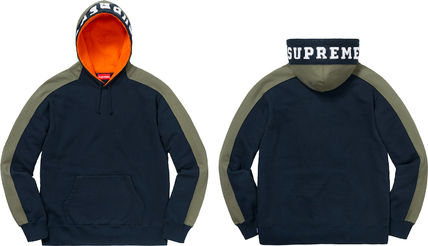 Supreme Hoodies Pullovers Unisex Street Style Long Sleeves Plain Cotton 8