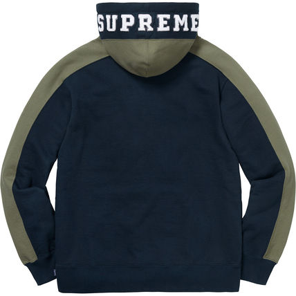 Supreme Hoodies Pullovers Unisex Street Style Long Sleeves Plain Cotton 10