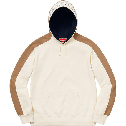 Supreme Hoodies Pullovers Unisex Street Style Long Sleeves Plain Cotton 11