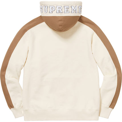 Supreme Hoodies Pullovers Unisex Street Style Long Sleeves Plain Cotton 12