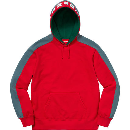 Supreme Hoodies Pullovers Unisex Street Style Long Sleeves Plain Cotton 15
