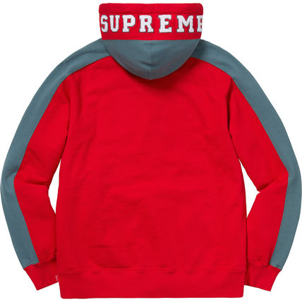 Supreme Hoodies Pullovers Unisex Street Style Long Sleeves Plain Cotton 16