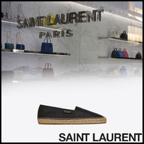 Saint Laurent Sheepskin Plain Loafers & Slip-ons