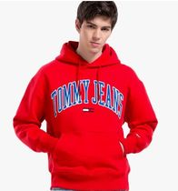 Tommy Hilfiger Unisex Street Style Logo T-Shirt Hoodies
