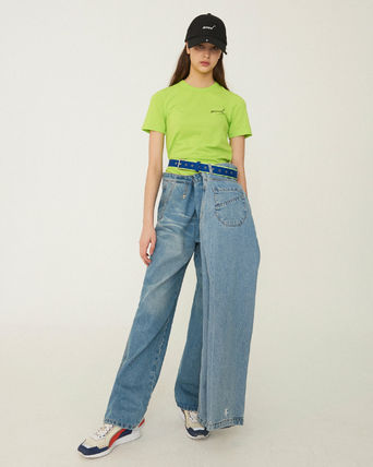 ADERERROR More Jeans Unisex Street Style Cotton Jeans 2