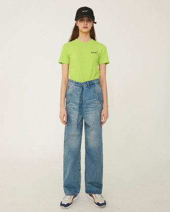 ADERERROR More Jeans Unisex Street Style Cotton Jeans 3