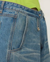 ADERERROR More Jeans Unisex Street Style Cotton Jeans 4