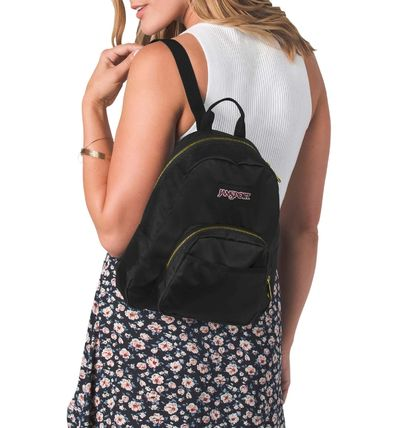 Casual Style Street Style Plain Backpacks