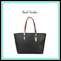 Paul Smith Blended Fabrics Leather Home Party Ideas Office Style Totes