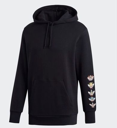 adidas Hoodies Street Style Collaboration Cotton Hoodies 5