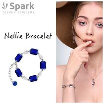 Spark Chain Silver With Jewels Elegant Style Fine