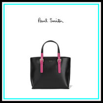 Paul Smith Blended Fabrics 2WAY Leather Home Party Ideas Office Style