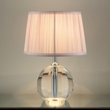 Blended Fabrics Street Style Clear Furniture Lighting