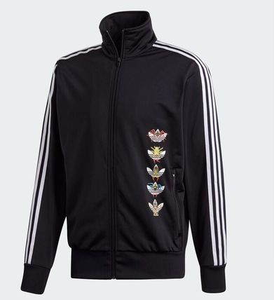 adidas Hoodies Stripes Street Style Collaboration Cotton Hoodies 2
