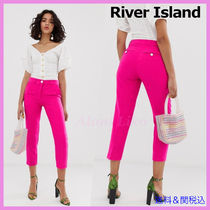 River Island Casual Style Plain Medium Cropped & Capris Pants