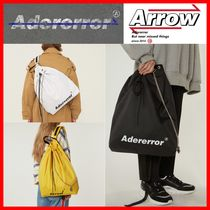 ADERERROR Casual Style Unisex Street Style Bags