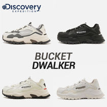Discovery EXPEDITION Unisex Street Style Bi-color Sneakers