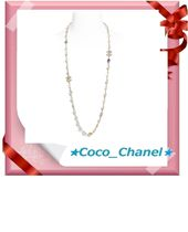 CHANEL Unisex Elegant Style Necklaces & Pendants
