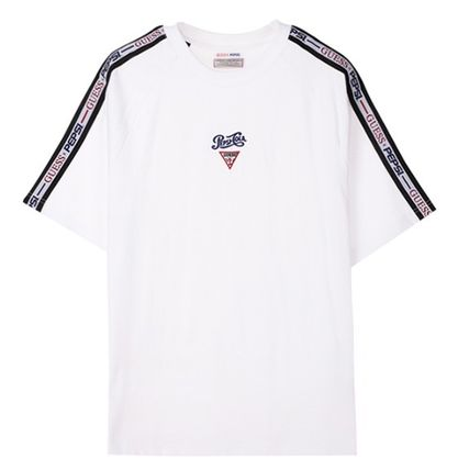 Guess More T-Shirts Unisex Street Style Collaboration Short Sleeves T-Shirts 2