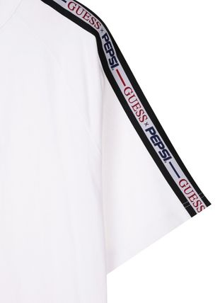 Guess More T-Shirts Unisex Street Style Collaboration Short Sleeves T-Shirts 6